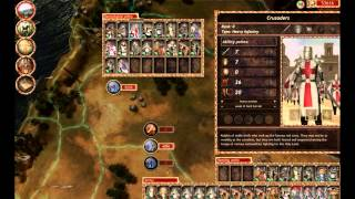 Lionheart Kings Crusade PC 2010 Gameplay