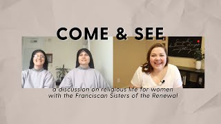 Come & See with the Franciscan Sisters of the Renewal