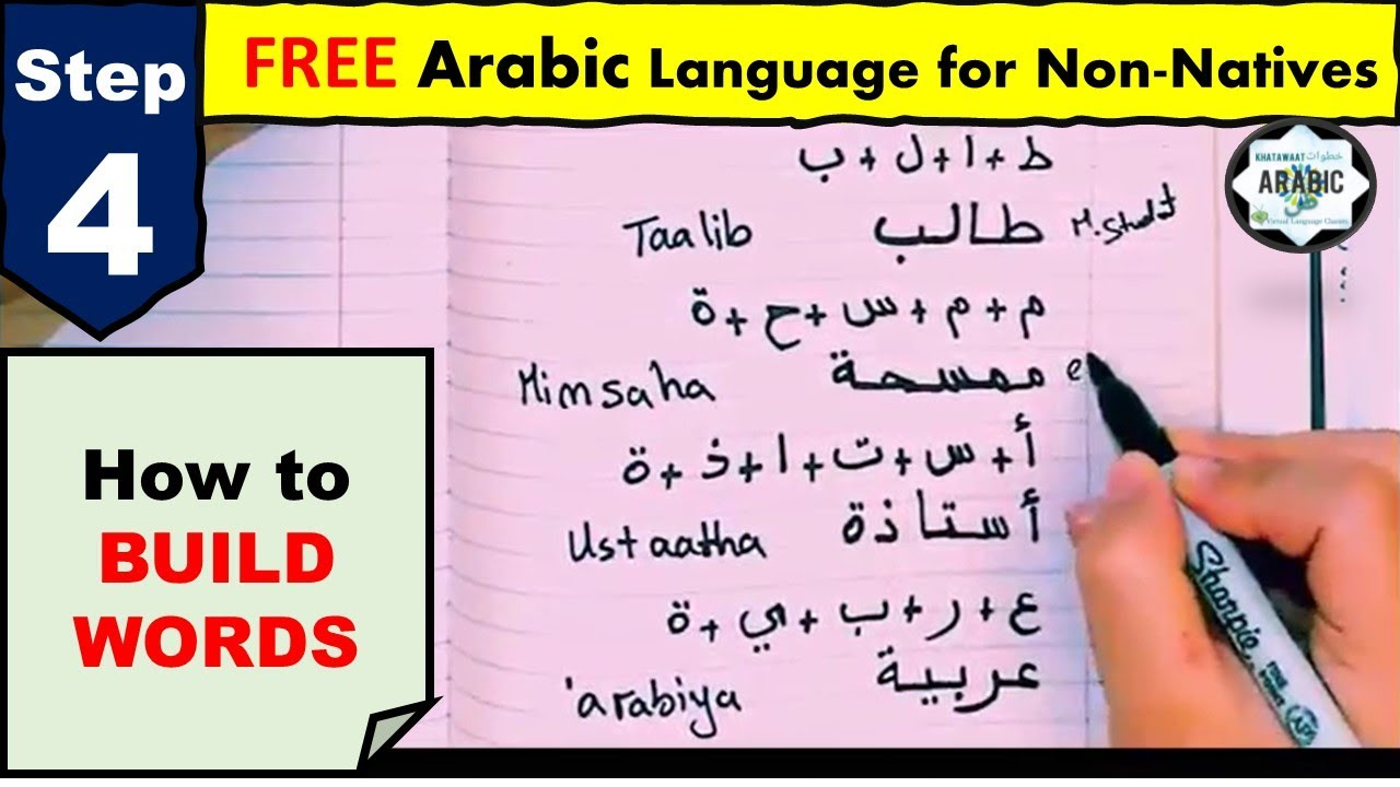 STEP 23 - Arabic Alphabet - Part 23- HOW TO WRITE- Arabic for