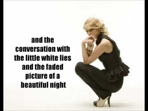 Taylor Swift-The Other Side of the Door-Lyrics