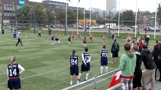 IFAF World Cup Flag Football - Mexico Vs France - Semi final - Second Quarter