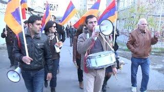 «Նոր Հայաստան»-ի երթը՝ Գյումրիում 28.11.2015
