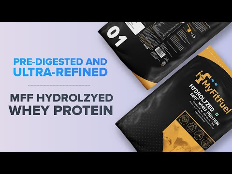 MFF Hydrolyzed Whey Protein | Fastest Absorbing | Pre-Digested Whey Protein