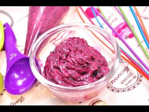 ไส้มิกซ์เบอร์รี่ครีม (ครีมมาการอง) Mix Berry and Cream