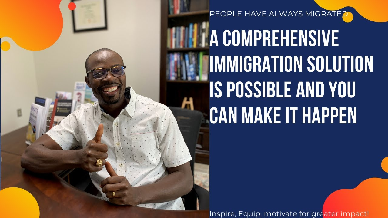 A comprehensive immigration solution is possible and you can make it happen