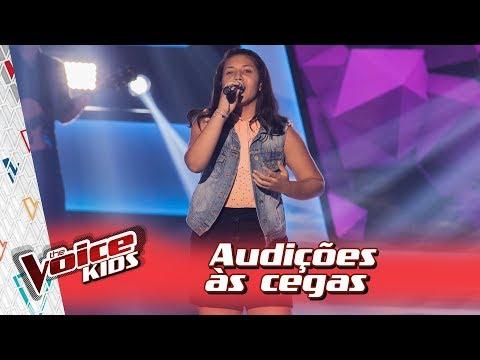 Victoria Andrade canta 'Someone Like You' na Audição – 'The Voice Kids Brasil' | 3ª Temporada