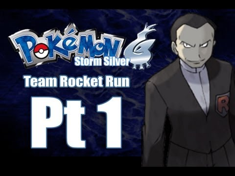 Pokemon Storm Silver - Team Rocket Run Pt 1: Owning with Magikarp!