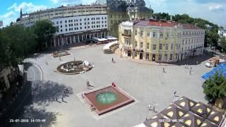 Анонс новой камеры. Греческая площадь. Odessa ONLINE.(, 2016-07-21T18:37:19.000Z)