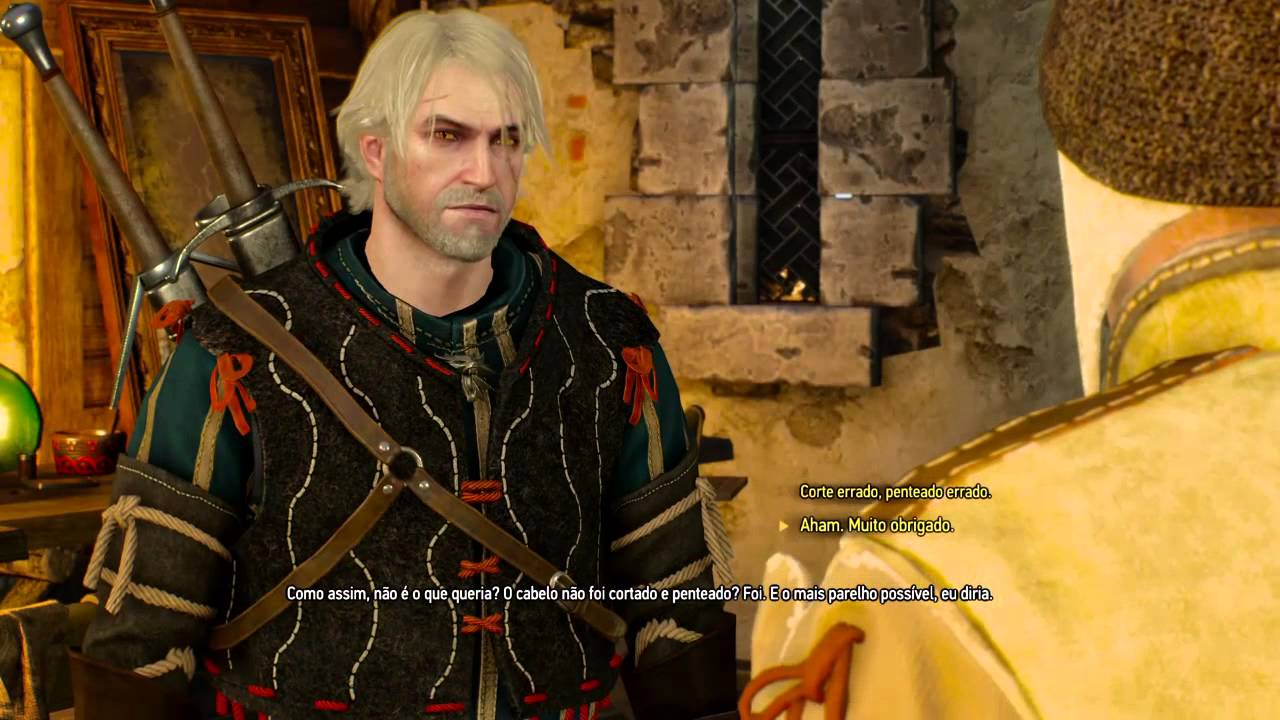 Witcher 3 Hair Styles: Wrong Haircut