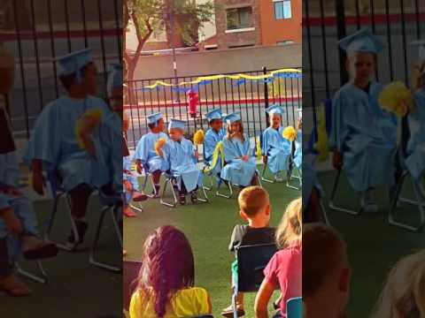 Victor preschool grad May 2017 Shining Stars Learning Center
