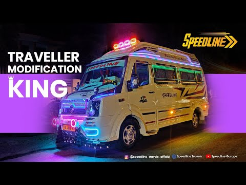 Additional lights on Force Traveller - Malayalam - Shot video