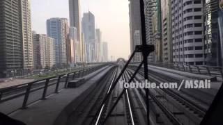 An Amazing view from Dubai Metro!