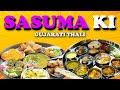 SASUMA KI Veg Gujarati Thali ||JALARAM Sweets Shop|| Khaman, Samosa, Kachori, Lassi, Jalebi and more