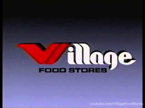 Village Food Stores - Commercials (1989)