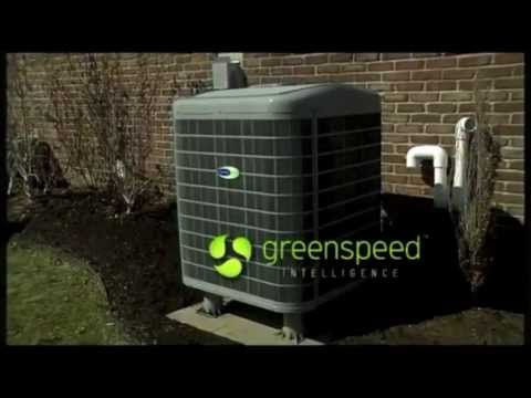 Infinity Variable Speed Heat Pump with Greenspeed Intelligence