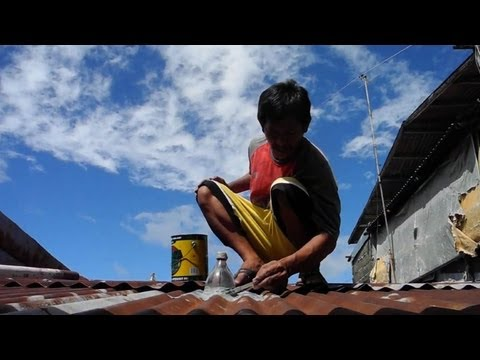 Solar light bottles in the Philippines offer hope