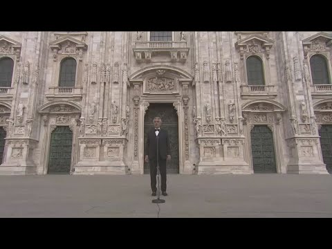 Andrea Bocelli's Easter performance from Milan