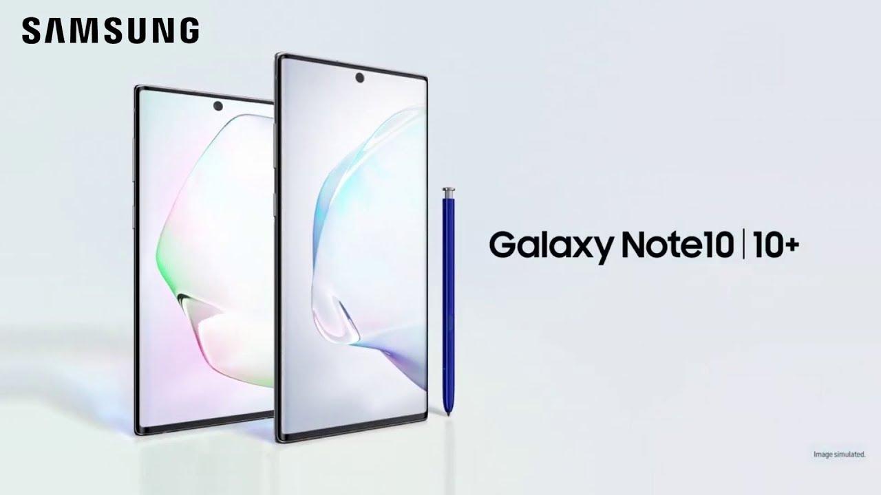 Spesifikasi Samsung Galaxy Note 10 dan Galaxy Note 10+