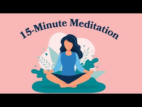 15-Minute Meditation For Self Love