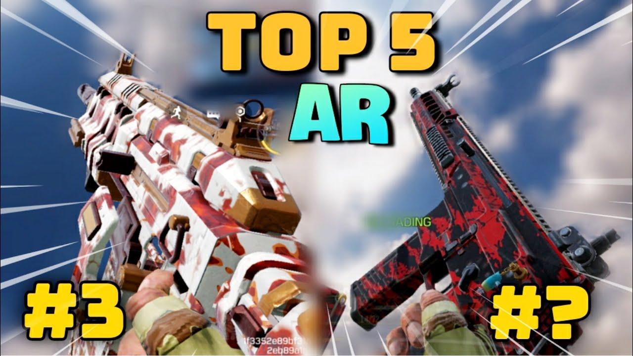 🔥Call Of Duty Mobile Top 5 Best Assault Rifles | CODM