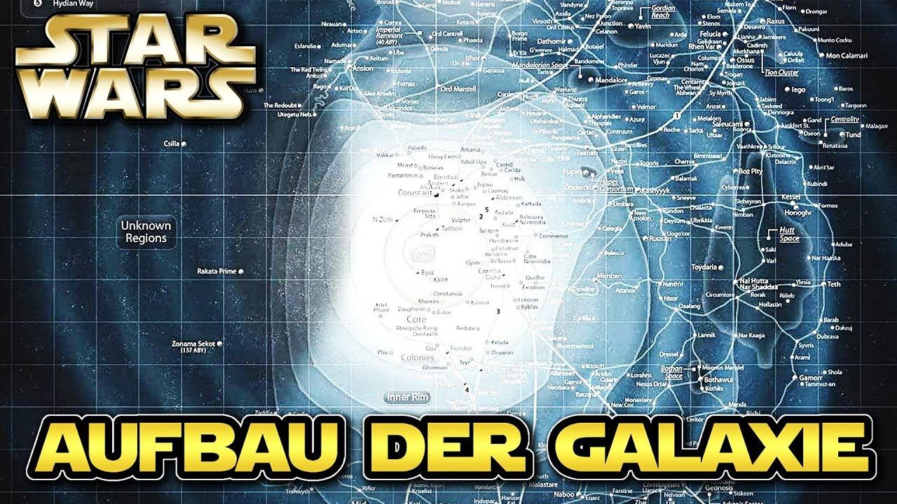 Star Wars Karte.Star Wars Der Aufbau Der Star Wars Galaxie