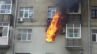 Пожар Ленинградский проспект, 14к1. 13.06.2017