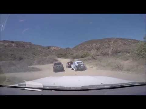 Trabuco Canyon (Holy Jim) Offroading On Side Trails with Toyota Trucks