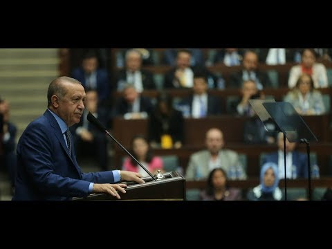 Cumhurbaşkanımız Erdoğan, TBMM Grup Toplantısı'nda konuştu