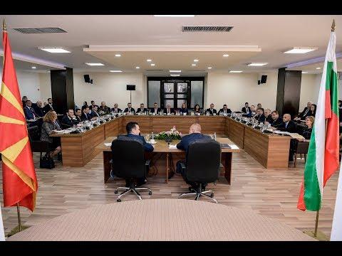 Инсерти од меѓувладина седница на Република Македонија и Република Бугарија (23.11.17)