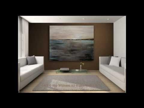 Original Modern Art Massive Paintings by Bethany Sky Whitman 2010