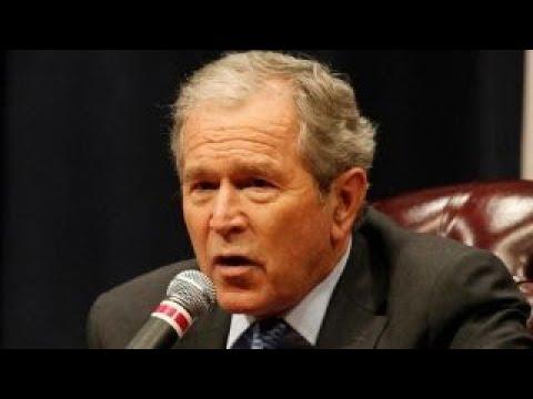 Former President Bush to give speech on North Korea