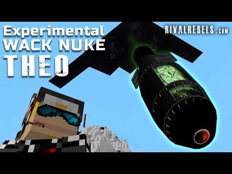 Theo Tsar Bomber Vs Minecraft Robot Mod