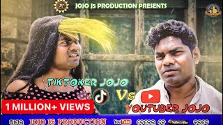 TIKTOKER JOJO Vs YOUTUBER  JOJO (JOGESH JOJO) // NEW SAMBALPURI COMEDY// JOJO J5 PRODUCTION