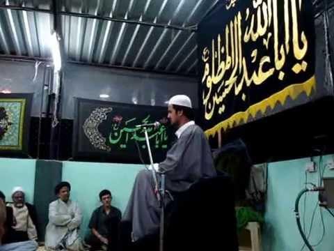 Maulana salman namdar 1st majlis pune 2007