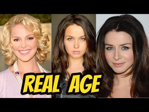 Grey's Anatomy ( American TV Series) Beautiful Actresses 2018 || Real Age ||Casts || Stars