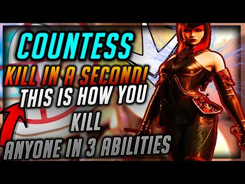 Paragon COUNTESS| THIS IS HOW YOU KILL SOMEONE WITH 3 ABILITIES| BURST DAMAGE CANT BE MATCHED| GODLY