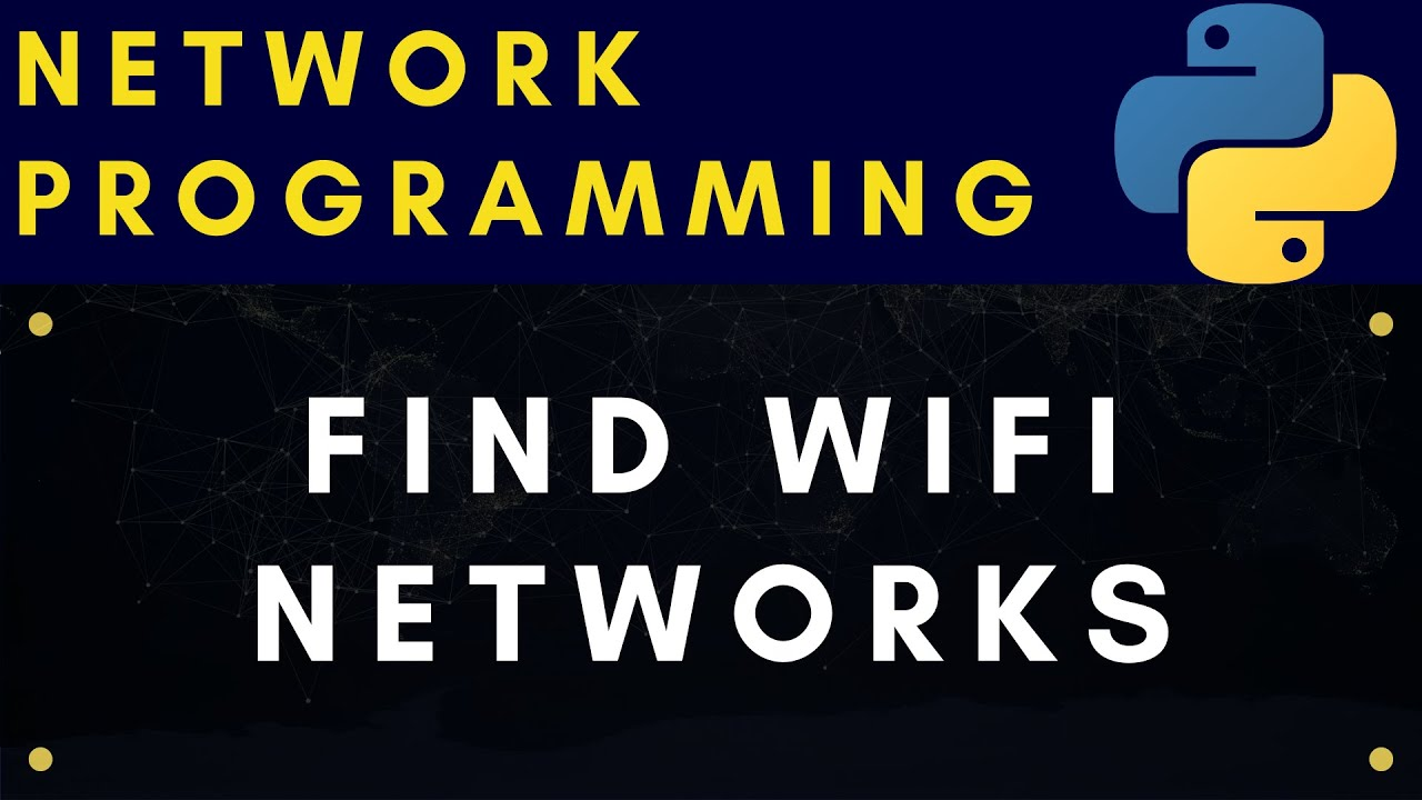 Find Available WiFi Networks Using CLI and Python