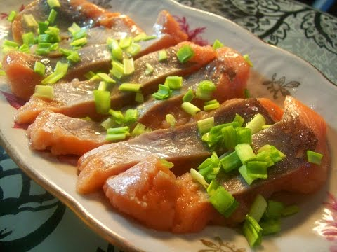 рецепт засолки горбуши в масле в домашних условиях