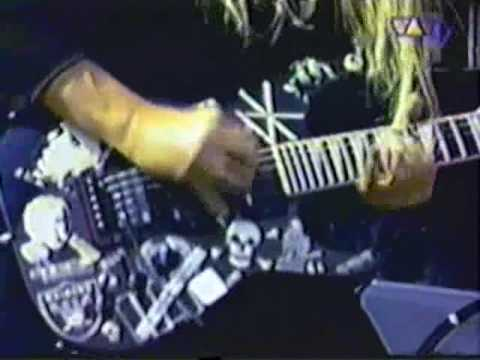 SLAYER Chemical Warfare Live HQ Donington England At Monsters Of Rock August 26 1995