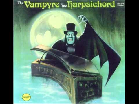 WALTZ OF THE GHOULS VERNE LANGDON VAMPIRE AT THE HARPSICHORD