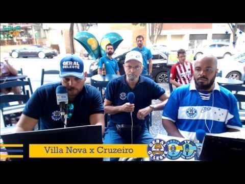 #RádioGeralCeleste - TRANSMISSÃO AO VIVO Villa Nova x Cruzeiro