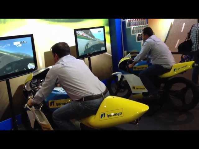 Simuladores de Formula Indy e Motovelocidade || Convenção Nacional 2013 IPIRANGA