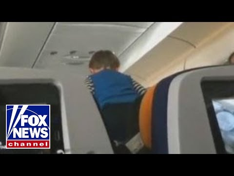 Viral video of screeching child on 8-hour flight