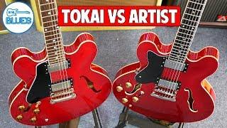 Artist Cherry 58 ($329) vs Tokai ES-145 ($2000) ES-335 Guitar Shootout