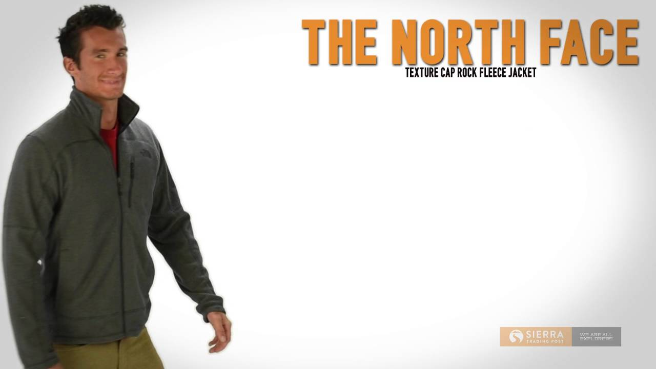 d4c221354 The North Face Texture Cap Rock Fleece Jacket (For Men)