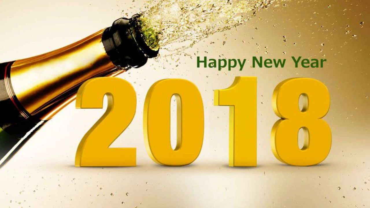 Happy New Year 2018 Wishes with Images