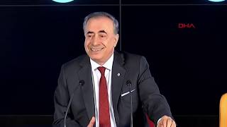 Galatasaray Başkanı Mustafa Cengiz konuştu