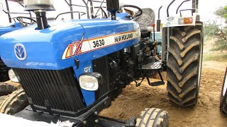 New model NewHolland 3630 tx super 12+3 inline pump full review with price, New Holland 3630 inline