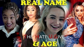 You Won't Believe Real Age of Them   The Hate U Give Actors Real Name And Age