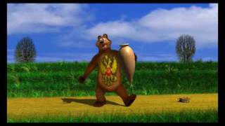 stop russia victor tsiklauri s animation short bear made in lightwave 9 3d